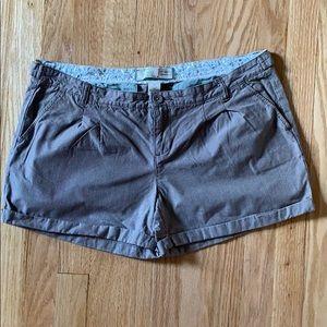 Old Navy Pinstriped Shorts SZ 10